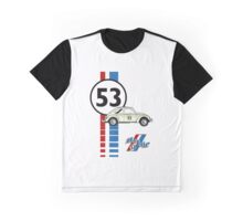 Herbie 53 VW bug beetle Graphic T-Shirt