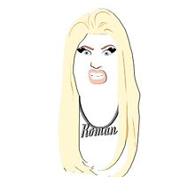 Nicki Minaj - Roman iPhone/iPod case by Nathaniel Kramer