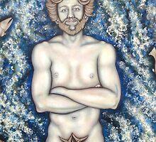 Neptune, dieu de la mer by Caroline Houde
