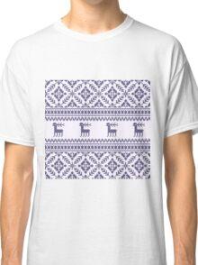 Knit pattern Classic T-Shirt