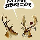 strAnge tAstes by Loui  Jover
