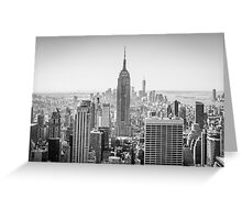 Empire State Building, New York City Greeting Card