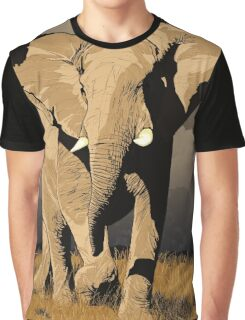 The Elephant's Marching Graphic T-Shirt