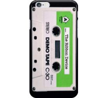 The Ribbon Device Demo Cassette (black) iPhone Case/Skin