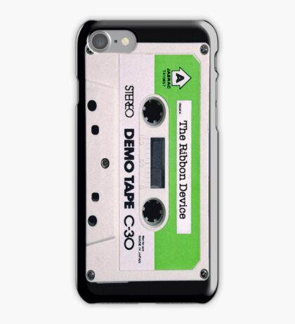 The Ribbon Device Demo Cassette (black) iPhone Case/Skin