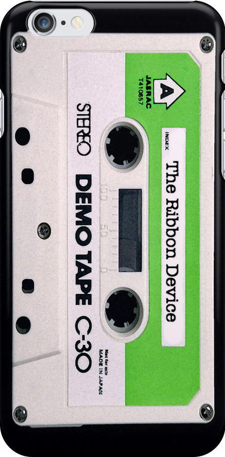 The Ribbon Device Demo Cassette (black) by Mat Creedon