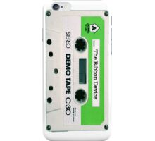 The Ribbon Device Demo Cassette (white) iPhone Case/Skin