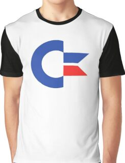 Commodore C64 Retro Classic Symbol Graphic T-Shirt
