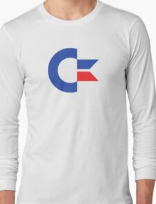 Commodore C64 Retro Classic Symbol Long Sleeve T-Shirt
