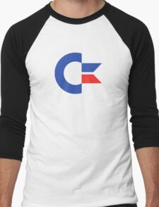 Commodore C64 Retro Classic Symbol Men's Baseball ¾ T-Shirt