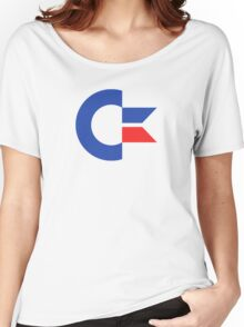 Commodore C64 Retro Classic Symbol Women's Relaxed Fit T-Shirt