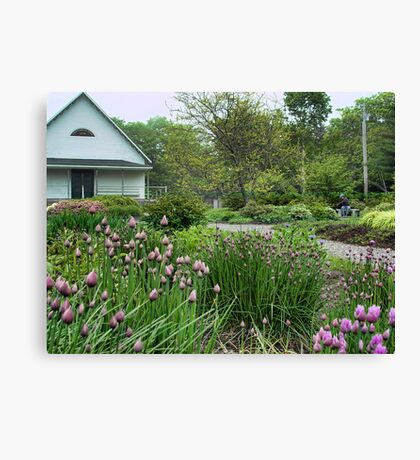 Maine Garden Club Canvas Print