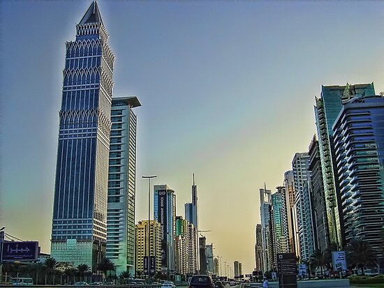 Sheikh Zayed Road by Omar Dakhane