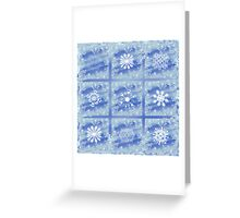 Frosted Panes Greeting Card