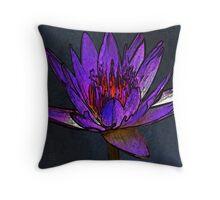 Beautiful Lily Throw Pillow