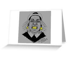 A$AP ROCKY - SLEAZE PLEASE Greeting Card