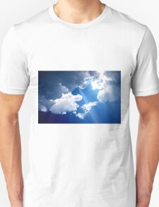 blue sky on the beach T-Shirt