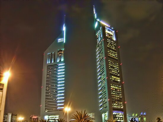 Emirates Towers (EL MAKTOM) by Omar Dakhane