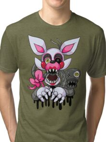 Graffiti Mangle Tri-blend T-Shirt