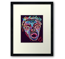 MAD-ness Framed Print