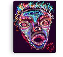 MAD-ness Canvas Print