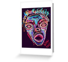 MAD-ness Greeting Card