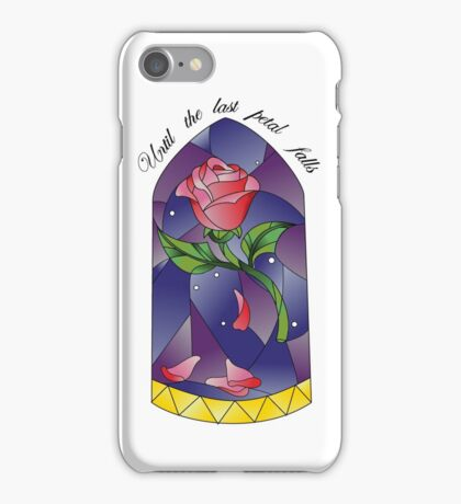 Until the last petal falls iPhone Case/Skin