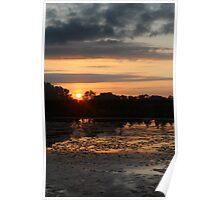 Catanna Wetlands Sunrise Poster