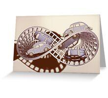 Möbius strip Greeting Card