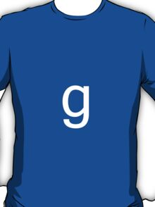 The g in gmod T-Shirt