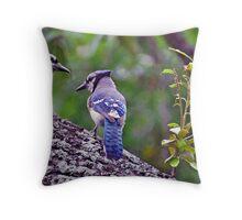 Blue Jays Throw Pillow