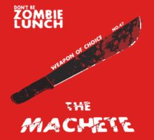 "Weapon of choice no. 47 ""The Machete"" by syfyninja"