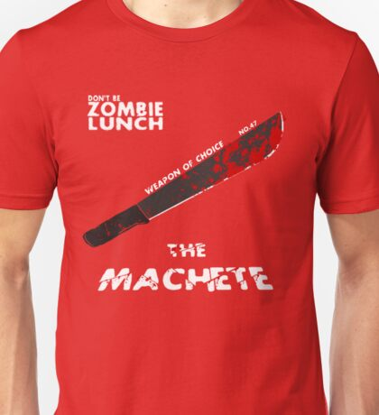 "Weapon of choice no. 47 ""The Machete"" Unisex T-Shirt"