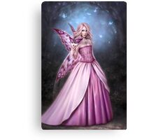 Titania Butterfly Fairy Queen Canvas Print