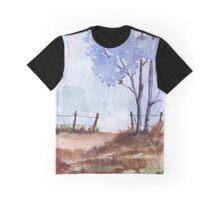 Seasonal Winter blues Graphic T-Shirt