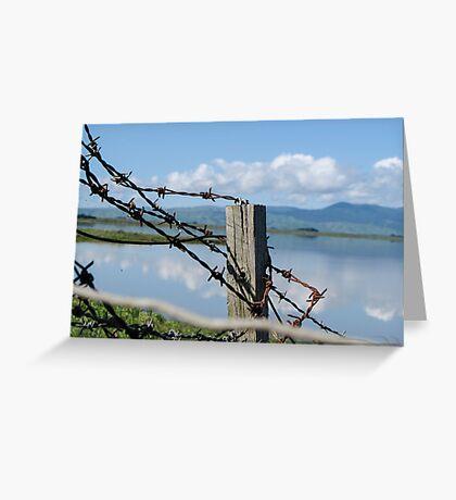 Lake Wairarapa Greeting Card