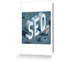 SEO Discovery Greeting Card