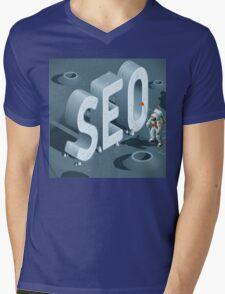 SEO Discovery Mens V-Neck T-Shirt