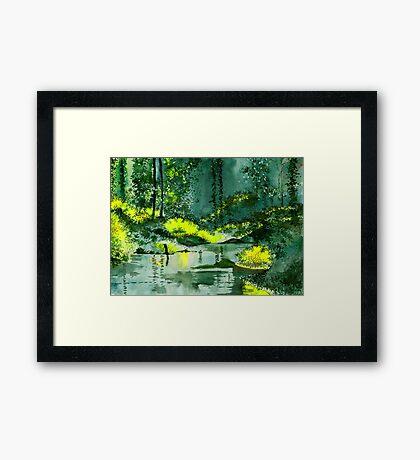 Tranquil 1 Framed Print