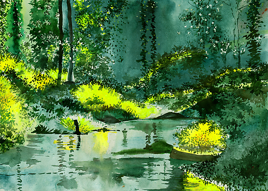 Tranquil 1 by Anil Nene