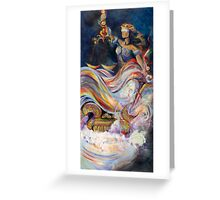 Themis - Blind Justice Greeting Card