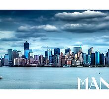 Manhattan Print by Thomas Gehrke