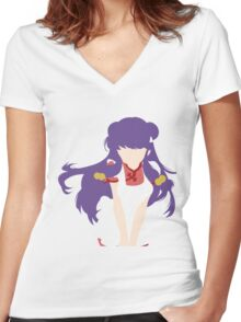 Shampoo Women's Fitted V-Neck T-Shirt
