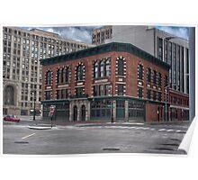 Parker Webb Building Poster