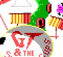 Maniac Mansion Pixel Style- Retro DOS game fan items Sticker