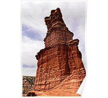 Palo Duro Canyon - Lighthouse Peak Poster