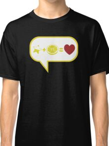 We talk about love Classic T-Shirt