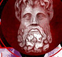 Geometric Gods Sticker