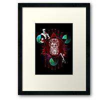 Geometric Gods Framed Print