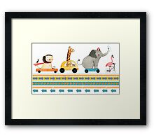 Have A Fun Ride Framed Print